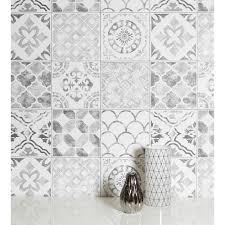arthouse diamond tile glitter vinyl moroccan motif shimmer effect wallpaper 905006