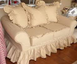 ideas furniture covers sofas. cottage slipcovers by design with trish banner super ruffly sofa ideas furniture covers sofas n