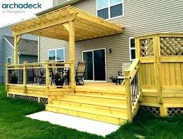 Backyard Deck Design Mesmerizing Roof Over Deck Ideas Deck Roofs Plans Interior Deck Roof Ideas Deck