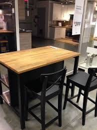 Ikea Stenstorp Kitchen Island Dark Oak Back Kitchen Island I