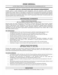 Assistant Operation Manager Resume