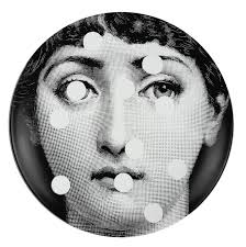 Fornasetti wall plate T&V 27