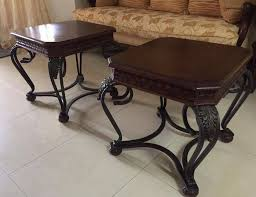 coffee table with 2 side tables set sint maarten
