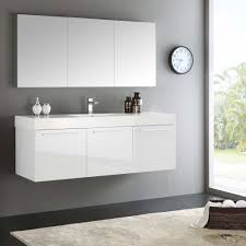 modern bathroom medicine cabinets. Fresca Vista 60\ Modern Bathroom Medicine Cabinets