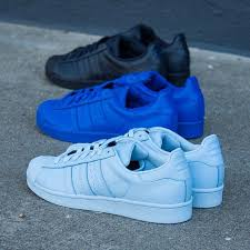 adidas shoes for girls superstar black. pharrell x adidas originals superstar supercolor pack shoes for girls black