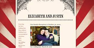 Your Day Your Way Create A Wedding Website Part 1