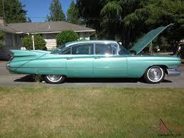 Vintage CADILLAC SEDAN Car Turquoise 62,784 Original Miles 4 door ...