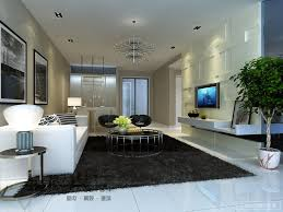 black bedroom rug. Marvelous Contemporary Living Room Rug And Shag Gray Sectional Black Built Ins Bedroom