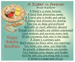 short essay speech poems on raksha bandhan rakhi for school  happy rakhi poem image in english
