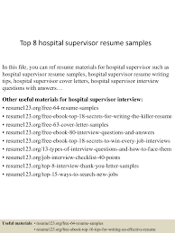 Hospital Supervisor Resume Top224hospitalsupervisorresumesamples224lva224app622492thumbnail24jpgcb=2242436090907 1
