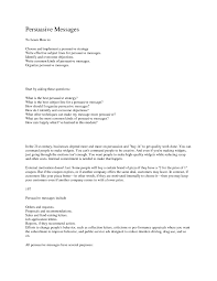 Example Persuasive Business Letters Best Persuasive Business Letter