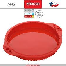 <b>Форма</b> для <b>пирога</b>, <b>пиццы</b>, <b>D</b> 28 см, силикон жаропрочный ...