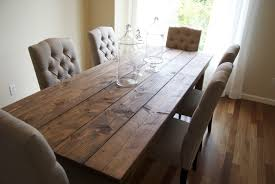 Amazing Of Rustic Farmhouse Dining Tables About Interior Decor - Rustic farmhouse dining room tables