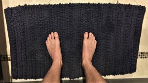 oh great bath mat what is the proper etiquette for using thee we asked you wonderful people and here s what you told us