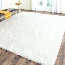 big white fluffy rug fuzzy area rugs