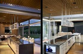 Lovely Luxury Kitchen Design Of Omaha Beach House By Xsites Architects Nice Look