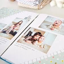 Baby Photo Album Book 12x12 Cashmere Blue Storytime Boy Fast2fab Album