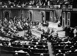 woodrow wilson s speech analyzed the speech given on  president wilson before congress announcing the break in the official relations