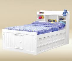 kids full size beds with storage. Plain Storage Jay Full Size Kids Bookcase Captain Bed 4 Under Drawer And Beds With Storage I
