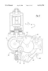 patent us6111378 window wiper motor system for an automotive patent drawing