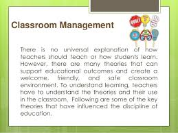 spe collaborative activity classroom management theories classroom management