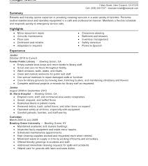 Maintenance Resume Example Supervisor Resume Example Telephone ...