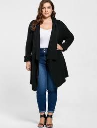 plus size cardigans on sale plus size sweaters cardigans women tunic long and black zaful