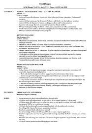 Assistant Restaurant Manager Resume Resume Sample