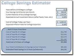 savings excel spreadsheet college savings spreadsheet moneyspot org