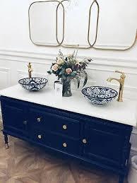vintage bathroom vanity sink basin unit