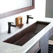 undermount bathroom trough sink medium size of trough sink ideas on double bathroom trough double undermount undermount bathroom trough sink