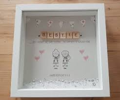 Box Picture Frame Details About Personalised Friendship Best Friend Xmas Birthday Gift Thank You Box Frame