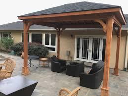 cedar pavilion kits. Exellent Pavilion Backyard Pavilion Kits Dana Aftab 4 Version 2 C Vision Cedar Patio Cover  Custom On Cedar Pavilion Kits