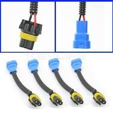 x brand new hb extension plastic wiring harness for image is loading 4x brand new 9005 hb3 extension plastic wiring