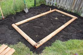 simple raised garden bed garden box