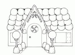 House Drawings For Kids To Color Free Printable House Coloring ...