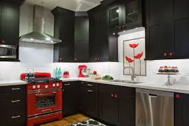 black and red kitchen designs. Delighful Designs Retro Black And Red Kitchen Ideas For And Designs B