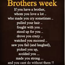 I have the best brother: Quotes on Pinterest | Brother Quotes ... via Relatably.com