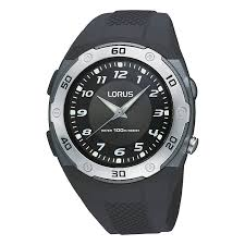 men s lorus watches h samuel lorus sports men s black rubber strap watch product number 9437711