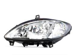 Headlight Johns 50 42 09 Left Without Motor For Headlamp Levelling