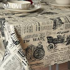 rectangular dining table cover cloth knitted vintage: fashion vintage pattern thickening table cloth tablecloth dining table cloth towel cover newpaper table cloth