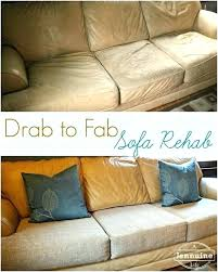 how to reupholster leather sofa cushions elderbranchcom