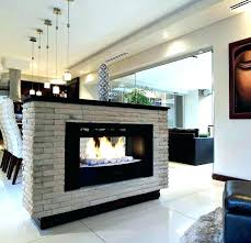 two sided fireplace two sided gas fireplace brilliant indoor outdoor see thru within three sided fireplace