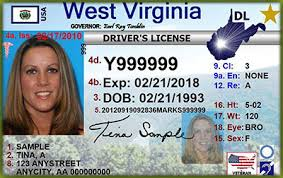 Virginia West Number License Patch-soft - Driver