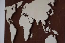 12 best world map wall art designs to