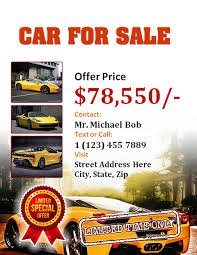Car Dealership Flyer Templates Car Sales Flyer Templates 10 Free Word Ppt Pdf Formats
