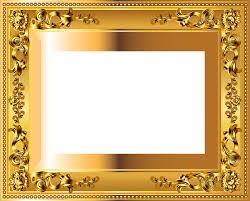 gold frame border png. Gold Frame Border Clipart Png Transparent Borderpng Images Rhpluspngcom Clip Art Image Gallery