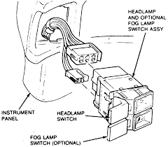 fox headlight switch joel!!! chevy headlight switch wiring diagram this is the switch assy with the pigtails