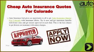 Auto Insurance Quotes Colorado Adorable Car Insurance Quotes Colorado Good Acquire The Best Auto Insurance