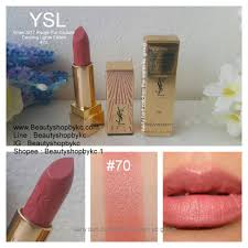 Ysl Dazzling Lights Lipstick Yves Saint Laurent Xmas 2017 Rouge Pur Couture Dazzling Lights Edition 70 3 8g